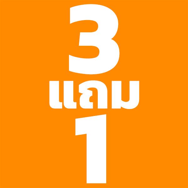 3 แถม 1