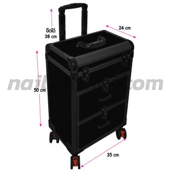 wheeled-luggage-PVC-AU-2-black